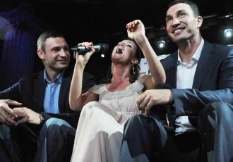 Кадр дня: Клички в Києві
