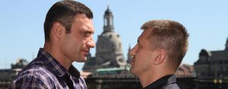 Віталій Кличко та Томаш Адамек у Дрездені (ФОТО)