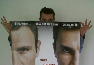 Кадр дня: Кличко рекламує сам себе