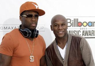 Кадр дня: Флойд Мейвезер і 50 Cent