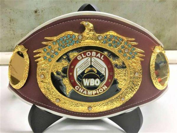 Кадр Дня. WBO створила новий чемпіонський пояс