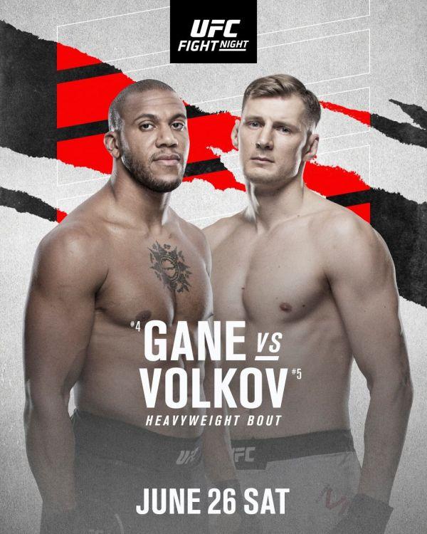 В UFC офіційно анонсували бій у важкій вазі між ро...