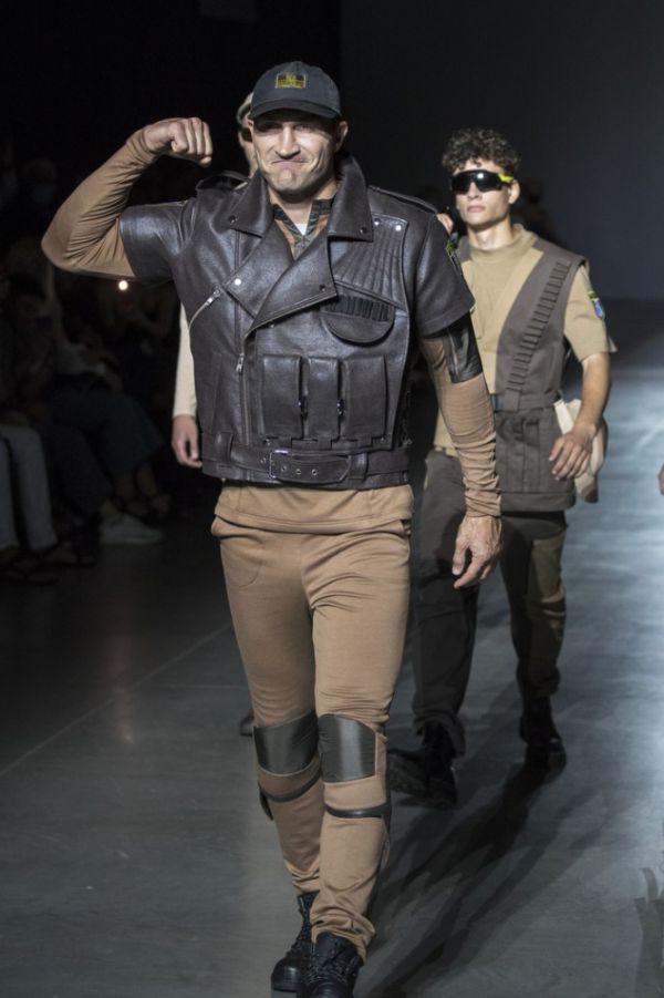 Кадр Дня: Володимир Кличко в якості моделі на Ukrainian Fashion Week