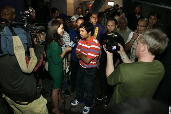 Менні Пакьяо завітав у Лос-Анджелесі на надпопуляр...