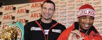 Лицем до лиця: Віталій Кличко - Одланьєр Соліс (ФОТО)